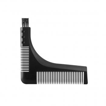 Фото Расческа для бороды  Трафарет  Eurostil Barber Line