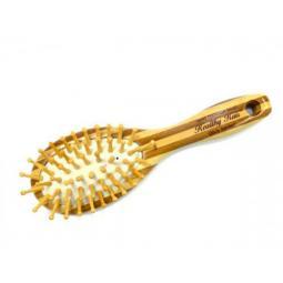 Бамбуковая массажная щетка для тела Olivia Garden Healthy Hair Small Oval HH1