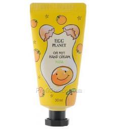 Освежающий крем для рук Daeng Gi Meo Ri Egg Planet Hand Cream Yuja