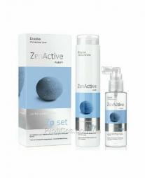 Набор для волос против перхоти Erayba Zen Active Purify Set