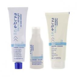 Набор для химического выпрямления волос Inebrya Bionic Straight Ammonia Free 3 Steps Kit