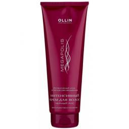 Интенсивный безсульфатный крем для волос с черным рисом Ollin Professional Megapolis