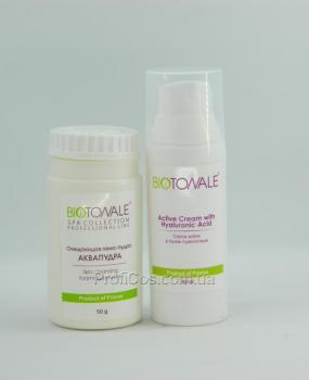 Фото Омолаживающий набор для ухода для всех типов кожи лица 2в1 Biotonale