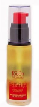 Фото Жидкие кристаллы для защиты цвета и блеска волос  Капля света  с экстрактом семени льна Personal Touch