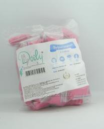 Одноразовые трусики-стринги для шугаринга из спанбонда розовые Doily