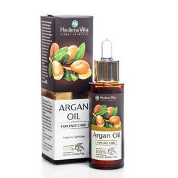 Масло арганы для ухода за кожей лица Hedera Vita Argan Oil For Face Care, 30 мл
