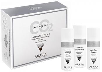 Фото Карбокситерапия для сухой и зрелой кожи лица Aravia Anti-Age Set