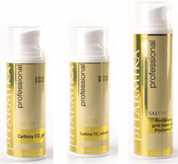 Фото Карбокситерапия для сухой, увядающей кожи лица СО2 + Nano Gold Pharmika