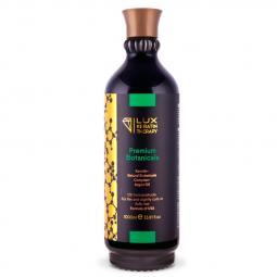 Кератин для выпрямления тонких, слегка кудрявых и пушистых волос Lux Keratin Therapy Premium Botanicals, 1000 мл