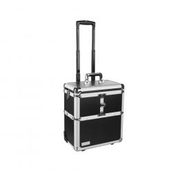Кейс для косметики 36х22х42 см (черный) Eurostil