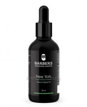 Фото Укрепляющее масло для бороды Barbers New York