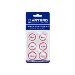 Кольца для ножниц (красные) Artero А242