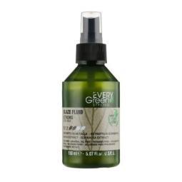 Крем-блеск для волос сильной фиксации с экстрактом березы и эхинацеи Dikson Every Green Glaze Fluid Strong