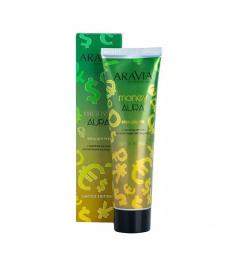 Крем для рук с маслом арганы и золотыми частицами Aravia Professional Money Aura Cream,100 мл