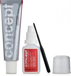 """Крем-краска для бровей и ресниц """"Графит"""" Concept Profy Touch"""