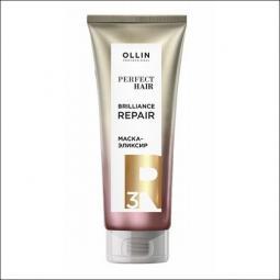 Маска-эликсир для волос Шаг 3 Ollin Professional Perfect Hair Brilliance Repair Mask