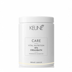 """Маска Spa уход для сухих и поврежденных волос """"Основное Питание"""" Keune Vital Nutrition Spa Cream bath, 1000 мл"""