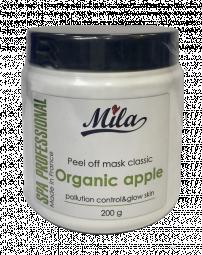 """Альгинатная увлажняющая питательная порошковая маска для лица """"Экстракт яблока"""" Mila Certified Pollution Control Peel Off Mask Organic Apple"""