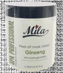 """Альгинатная укрепляющая маска для лица """"Жизненная сила. Женьшень"""" Mila Peel of Mask Classic Vitaliti Powder"""