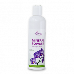 Минеральная ароматная пудра для депиляции Velvet Mineral Powder