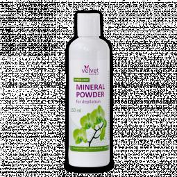 Минеральная гипоаллергенная пудра для депиляции Velvet Mineral Powder Hypoallergic