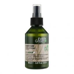 Крем-блеск для волос экстрасильной фиксации с экстрактом березы и эхинацеи Dikson Every Green Glaze Fluid Extra-Strong