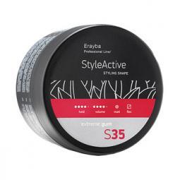 Моделирующая паста для волос сильной фиксации ERAYBA STYLE ACTIVE S35 Extreme Gum