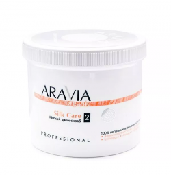 "Мягкий крем-скраб для тела от целлюлита Aravia Organic ""Silk Care"""