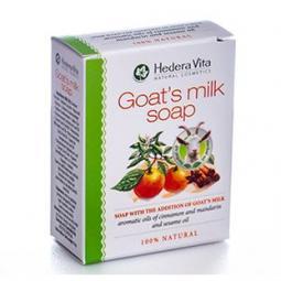 Мыло с козьим молоком и корицей Hedera Vita Soap with the Addition of Goat Milk Cinnamon, 65 гр