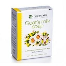 Мыло с козьим молоком и ромашкой Hedera Vita Soap with the Addition of Goat Milk Chamomile, 65 гр