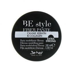 Волокнистая моделирующая паста для укладки волос Be Hair Be Style Fiber Paste with Caviar, Keratin and Collagen