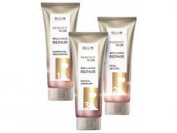 Набор для комплексного восстановления волос Ollin Professional Perfect Hair Brilliance Repair