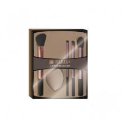 Набор кистей для макияжа + спонж Parisa Cosmetics
