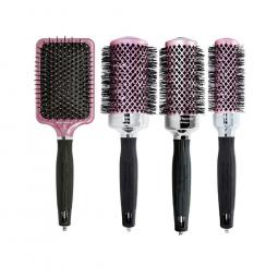 Набор брашингов для волос (4шт.) Olivia Garden NANO THERMIC THINKPINK 2019 EDITION (34, 44, 54, NTPDL)