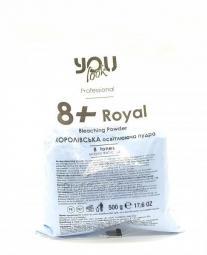 Королевская синяя осветляющая пудра для волос (8 тонов) You look Professional 8+ Royal