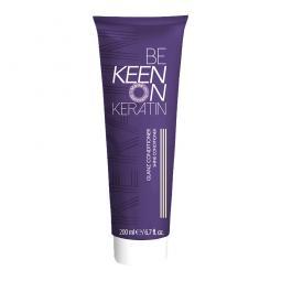 Укрепляющий кондиционер для блеска волос KEEN Keratin Glanz Conditioner