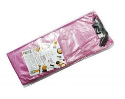 Одноразовый чехол для педикюрной ванночки  50*70 см, розовый Panni Mlada