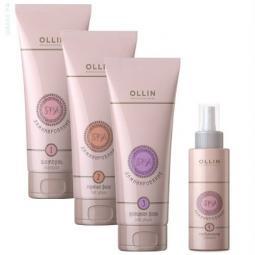 Комплекс для ламинирования волос Ollin Professional SPA Lamination