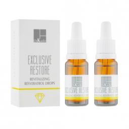 """Восстанавливающие капли для лица """"Ресвератрол"""" Dr. Kadir Exclusive Restore Skin Revitalizing Resveratrol Drops"""