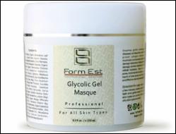 Отшелушивающая гликолевая маска 10% с выравниванием тона кожи лица FormEst Glycolic Gel Masque