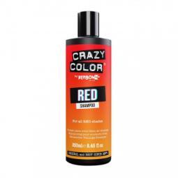Оттеночный шампунь для волос всех красных оттенков Crazy Color Red