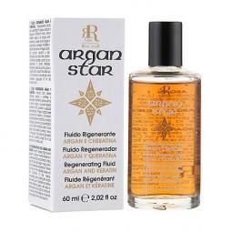 Реструктуризирующий флюид для волос с аргановым маслом и кератином RR Line Argan Star Fluid