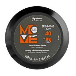 Паста-паутинка для укладки волос сильной фиксации Dikson Move-Me Fibre-forming Pomade Strong Hold 40