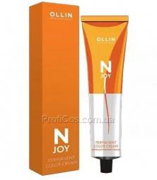 Перманентная крем-краска для седых волос 6/65 темно-русый красно-махагоновый Ollin Professional N-Joy