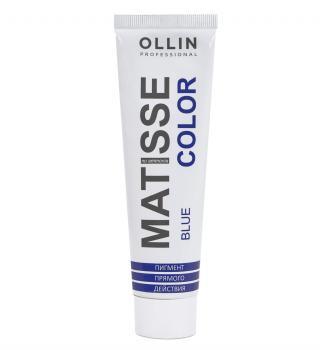 Фото Пигмент прямого действия Ollin Professional Matisse Color, синий