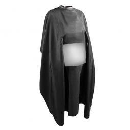 Пеньюар для стрижки волос (черный с прозрачным окном) 125x150 см Beardburys
