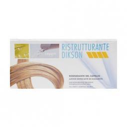 Восстанавливающий ампульный комплекс для поврежденных волос с кератином и коллагеном Dikson Ristrutturante