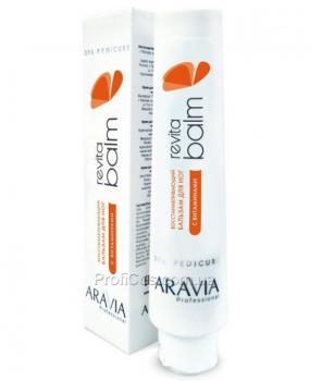 Фото Восстанавливающий бальзам для ног с витаминами Aravia  Revita Balm