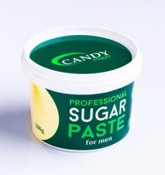 Сахарная паста для шугаринга для мужчин средняя CANDY Sugar DELICAT for MEN