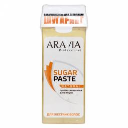 "Сахарная паста для шугаринга в кассете мягкая ""Натуральная"" Aravia"